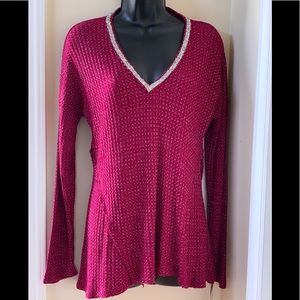 NEW Juicy Couture Long Sleeves V-Neck